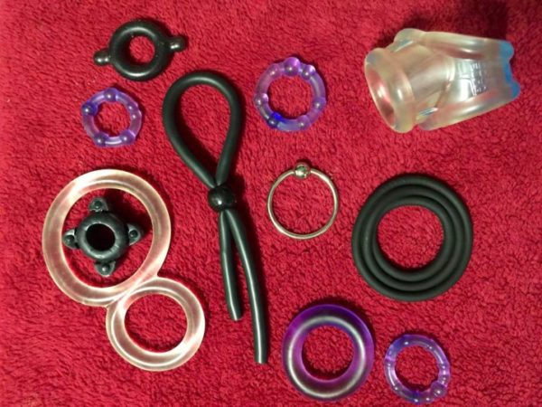 selection of cockrings