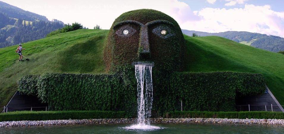 spitting fountain