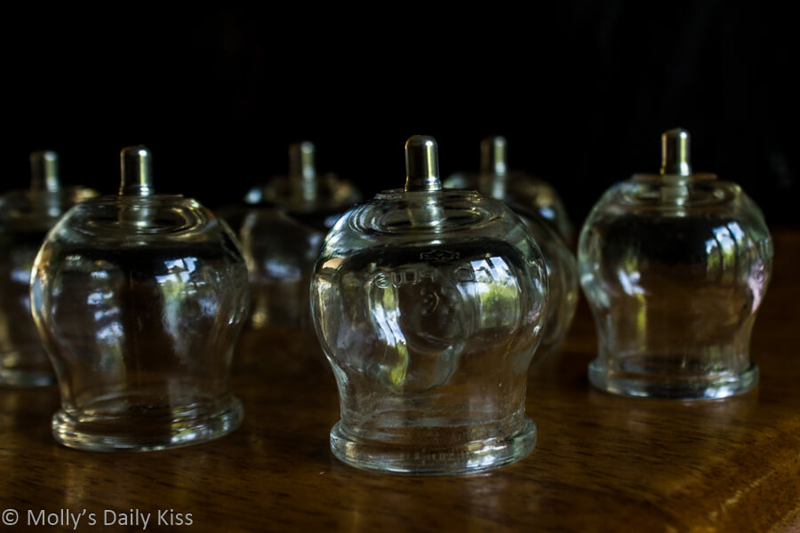 cupping glass cups